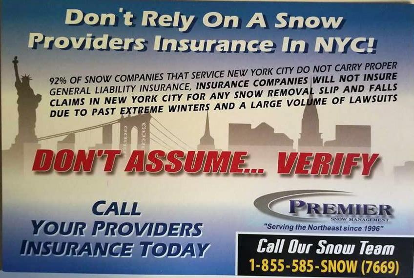 Premier Snow Management Front - Read This
